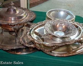 Silver Plate tableware