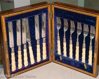 Antique Fork and Knife set