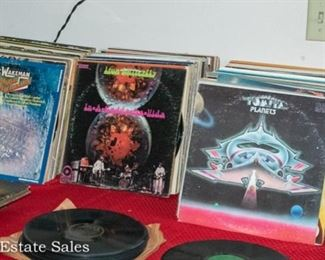 RECORDS: 45s, 78s, LPs