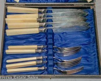 Antique Fork / Knife Set