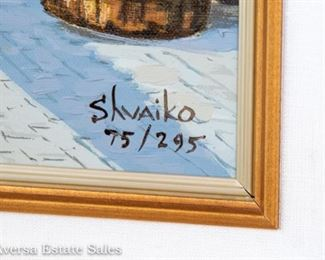 Signed and Numbered Viktor Shvaiko Giclee