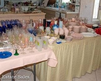 TABLES of Kitchenware