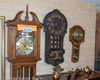 CLOCKS - Grandfather, Grandmother, Wall Clocks