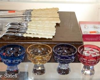 Collectibles - Cut to Clear Glassware