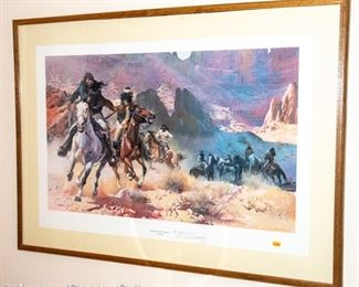 Native American Lithographs by GUY MANNING