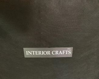 """Alternate view - Side Chair by Interior Crafts.  MEASUREMENTS:  28""""H x 34""""W x 30""""D.  Pair $750 - Separately $450 Ea."""