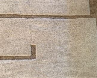 Alternate view - Large Tufenkian area rug in the Shanghai pattern.  MEASUREMENTS:  Approximately 16' x 14'.   $1800