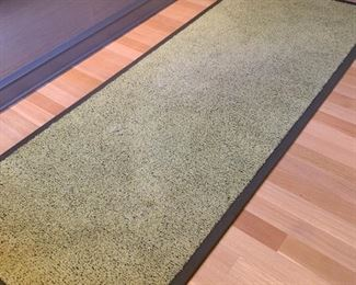 Ruckstuhl carpet runner.  MEASUREMENTS:  10' x 4'.  $75