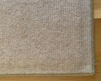 Alternate view - Neutral wool area rug.  MEASUREMENTS:  10' x 8'.  $125