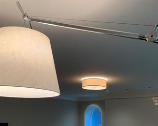 Alternate view - Artemide Tolomeo floor lamp.  MEASUREMENTS:  Fully extended approximately 9 1/2' tall.   $675