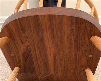 "Alternate view - De La Espada Kimble Windsor Chairs MEASUREMENTS:  42 1/2""H x 26""W x 26 1/2""D.   $800 Ea. or $2,000 for the three."