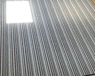 "Concepts International Area rug.  MEASUREMENTS:  8'6"" x 10'.   $125."