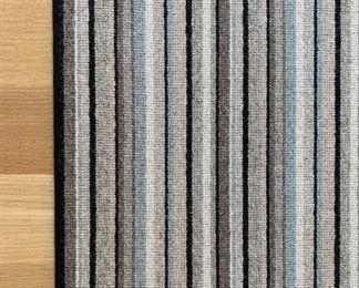 "Alternate view - Concepts International Area rug.  MEASUREMENTS:  8'6"" x 10'.   $125."