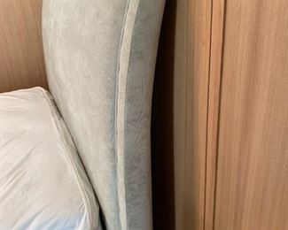 """Alternate view - Queen size bed.  MEASUREMENTS:  Headboard - 56 1/2""""H x 66 1/2""""W.  Bed 94""""L.  $350"""