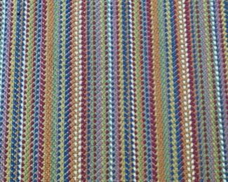 """Alternate view - Colorful area rug.  MEASUREMENTS:  10'  x  8'6"""".   $125"""