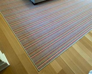 "Colorful area rug.  MEASUREMENTS:  10'  x  8'6"".   $125"