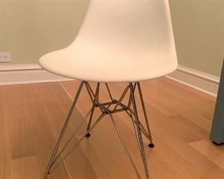 Eames Vitra plastic chair.   $175