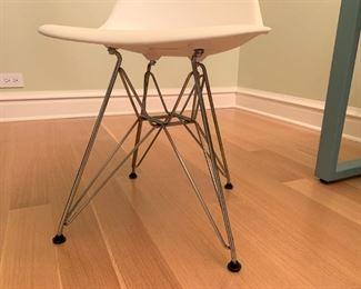 Alternate view - Eames Vitra plastic chair.   $175
