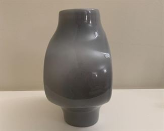 "Alternate view - George Nelson Vitra ceramic clock.  MEASUREMENTS:  7""H x 6""W x 3 1/2""D.  $175"