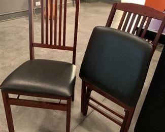Set of 5 folding chairs.  $100