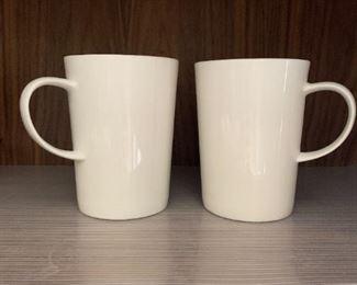 Pair of Crate and Barrel mugs $2