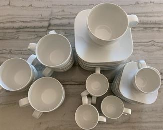 Alternate view - Set of Rosenthal Studio Line coffee/tea cups and espresso/demitasse cups and saucers.   $125