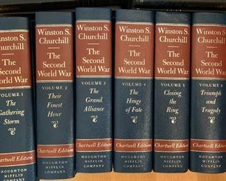 Complete set - Churchill - Second World War  $125