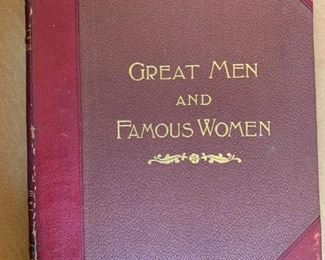 Alternate view - Complete volumes - Great Men and Famous Women - 8 volumes $100