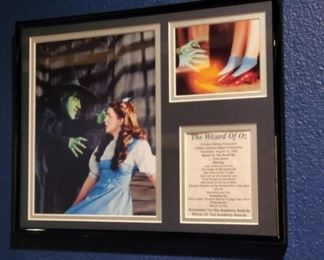Wizard of Oz memorabelia