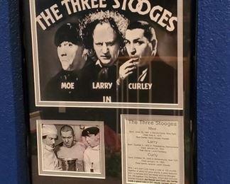 The Three Stooges movie memorabelia