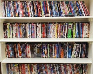 100's of DVD's