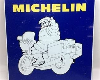 1960'S MICHELIN MAN 2 SIDED ADVERTISING SIGN