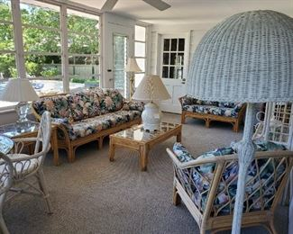 Florida Room Rattan Furnishings