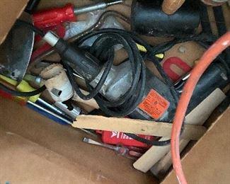 Hammer drill, tools