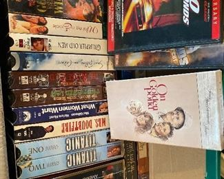 VHS movies - most are NIOP