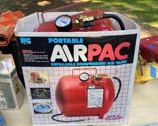 Portable airpac
