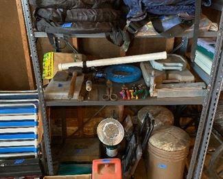 Hunting, fishing, garage items