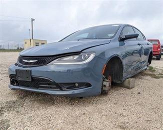 2015 Chrysler 200S - Vin 1C3CCCBBXFN665539