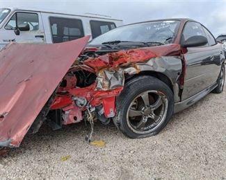 Wrecked 2004 Pontiac GTO - Vin 6G2VX12G04L233406
