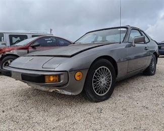 1981 Porsche 924 Coupe - Vin WP0AA0922BN450194