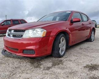 2011 Dodge Avenger - Vin 1B3BD1FB5BN554492