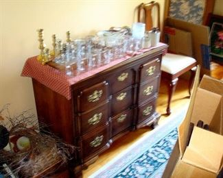 Henkel-Harris chest of drawers and other items.