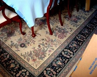 Vintage room size rug approx. 15 X 10 ft.