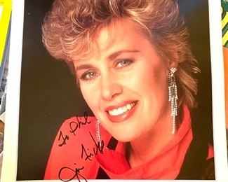 Autographed Janie Fricke picture