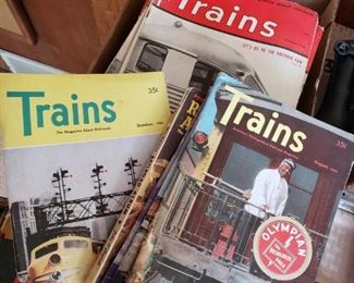 VINTAGE TRAIN MAGS