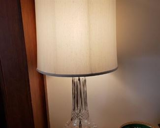 ANOTHER WATERFORD LAMP