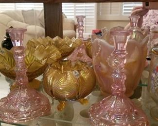 Fenton glass collection  much more than shown by appt only