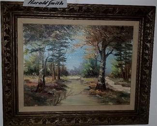 Harold Smith listed artist ool painting