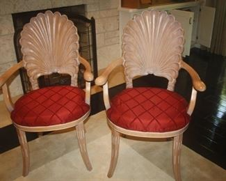 SHELL BACK SIDE CHAIRS