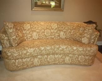 CUSTOM CURVED SOFA